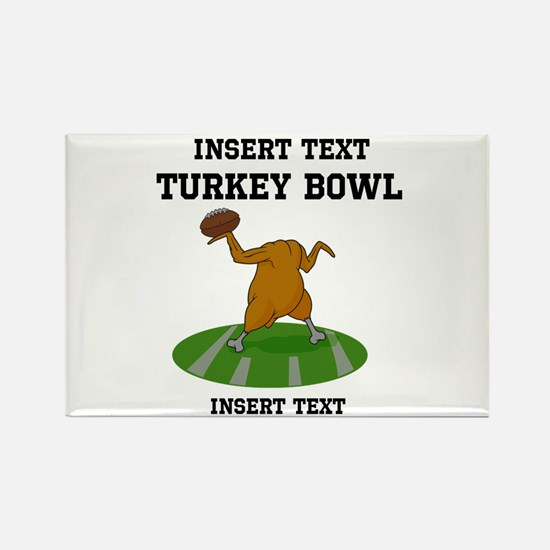 Personalized Turkey Bowl Magnets