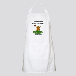 Personalized Turkey Bowl Apron