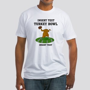 Personalized Turkey Bowl T-Shirt