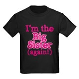 Big sister again Kids T-shirts (Dark)