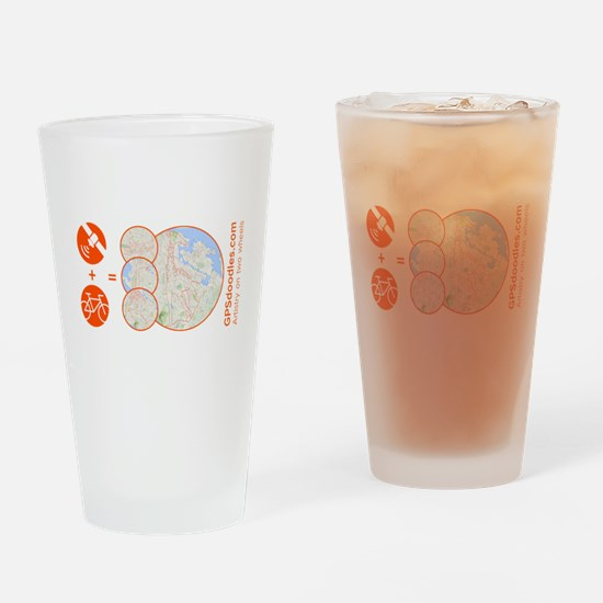 Funny Garmin Drinking Glass