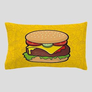 Cheeseburger Pillow Case