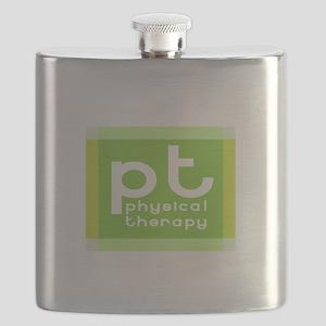 3-PT-curvyfont-dark2 Flask