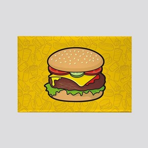 Cheeseburger Magnets