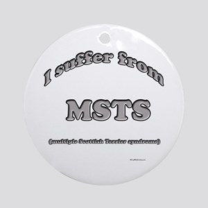 Scotty Syndrome Ornament (Round)