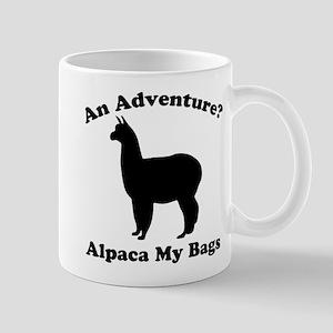 An Adventure? Alpaca my bags Mugs
