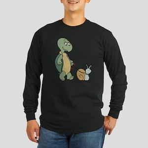 Walking the snail Long Sleeve T-Shirt