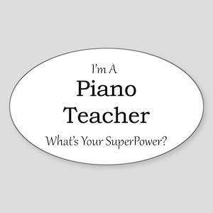 Piano Teacher Sticker