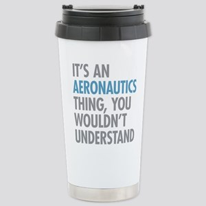 Aeronautics Thing Stainless Steel Travel Mug