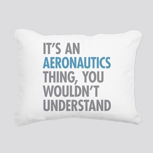 Aeronautics Thing Rectangular Canvas Pillow