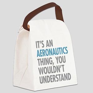 Aeronautics Thing Canvas Lunch Bag