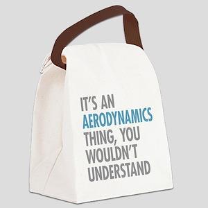 Aerodynamics Thing Canvas Lunch Bag