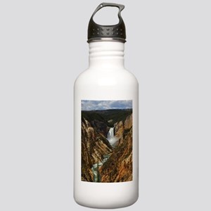yellowstone national park Water Bottle
