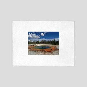 yellowstone national park 5'x7'Area Rug