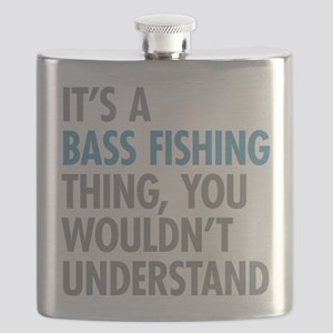 Bass Fishing Thing Flask
