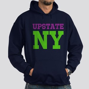 UPSTATE NEW YORK (ATHLETIC) Hoodie (dark)