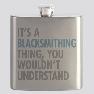 Blacksmithing Thing Flask