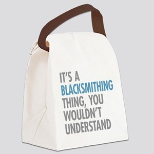 Blacksmithing Thing Canvas Lunch Bag