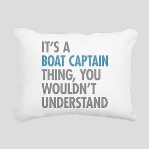Boat Captain Thing Rectangular Canvas Pillow