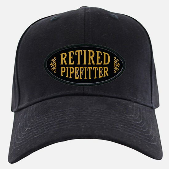 Retired Pipefitter Baseball Hat