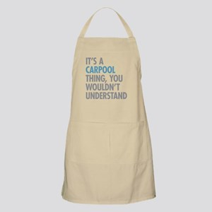Carpool Thing Apron