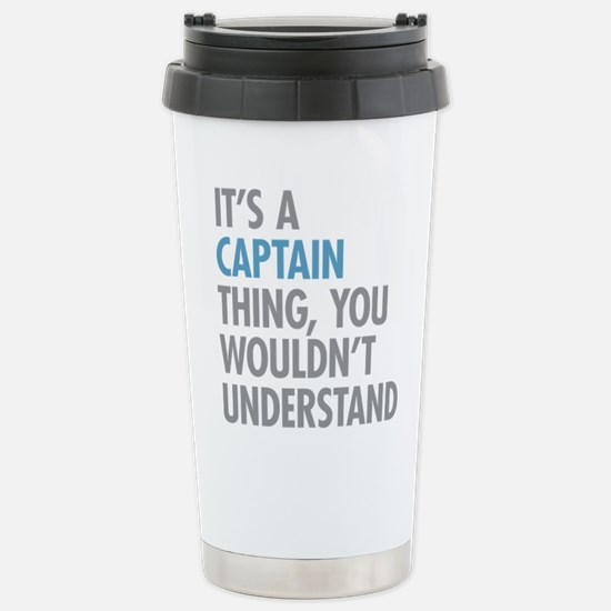 Captain Thing Stainless Steel Travel Mug
