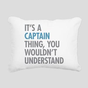 Captain Thing Rectangular Canvas Pillow