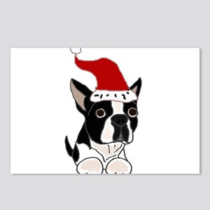 Boston Terrier Dog Christ Postcards (Package of 8)