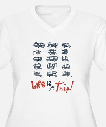 Navy & Red Life i T-Shirt