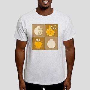 Shanah Tovah Rosh Jewish New Year Light T-Shirt