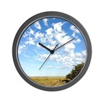 Alberta Skies Wall Clock