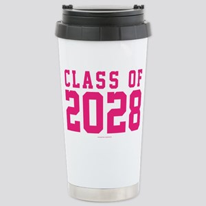 Class of 2028 Stainless Steel Travel Mug