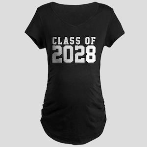 Class of 2028 Maternity T-Shirt