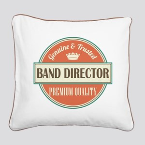 Authentic Music Director Square Canvas Pillow