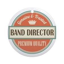Authentic Music Director Ornament (Round)