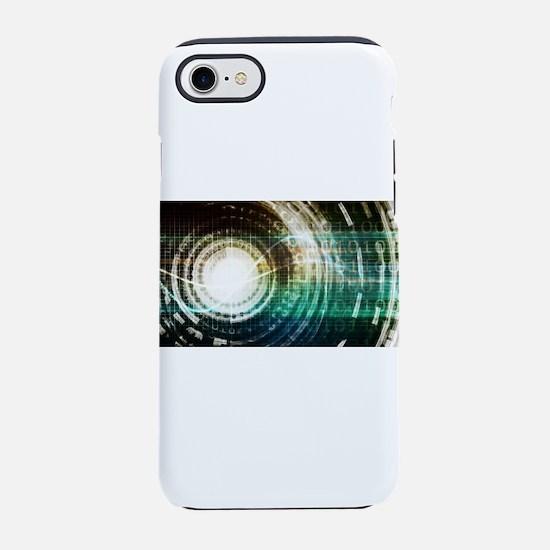 Futuristic Technol iPhone 8/7 Tough Case
