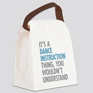 Dance Instruction Thing Canvas Lunch Bag