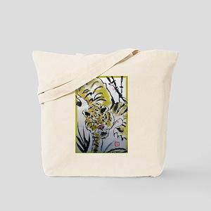 Tiger, Asian, wildlife art! Tote Bag