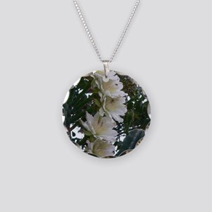 Texas Cactus Blossoms 02 Necklace Circle Charm