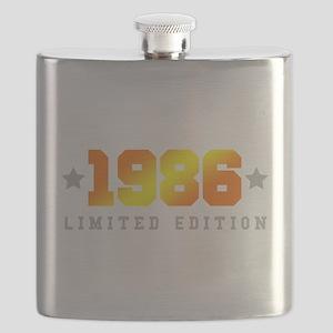 Limited Edition 1986 Birthday Shirt Flask