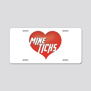 MineTicks Aluminum License Plate