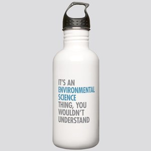 Environmental Science Stainless Water Bottle 1.0L