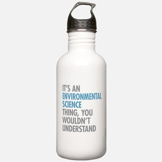 Environmental Science Water Bottle