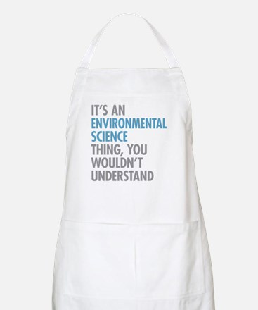 Environmental Science Thing Apron