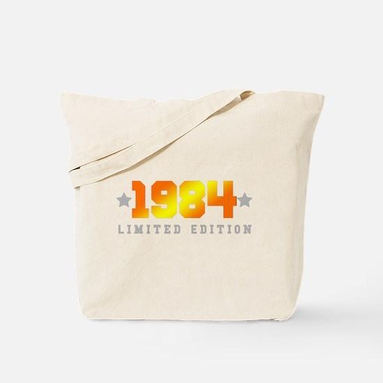 Cute Men birthday 1984 Tote Bag