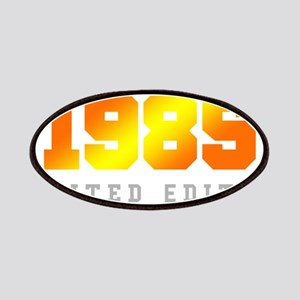 Limited Edition 1985 Birthday Shirt Patch