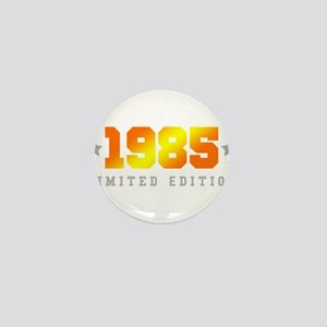 Limited Edition 1985 Birthday Shirt Mini Button