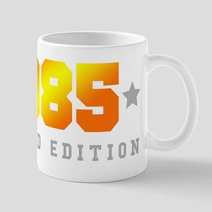 Limited Edition 1985 Birthday Shirt Mugs