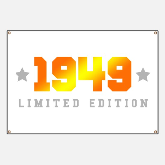 Limited Edition 1949 Birthday Banner