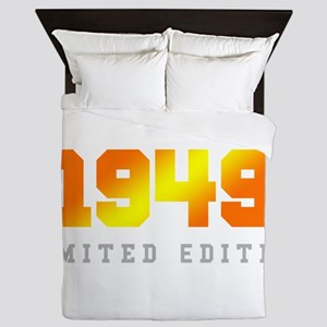 Limited Edition 1949 Birthday Queen Duvet